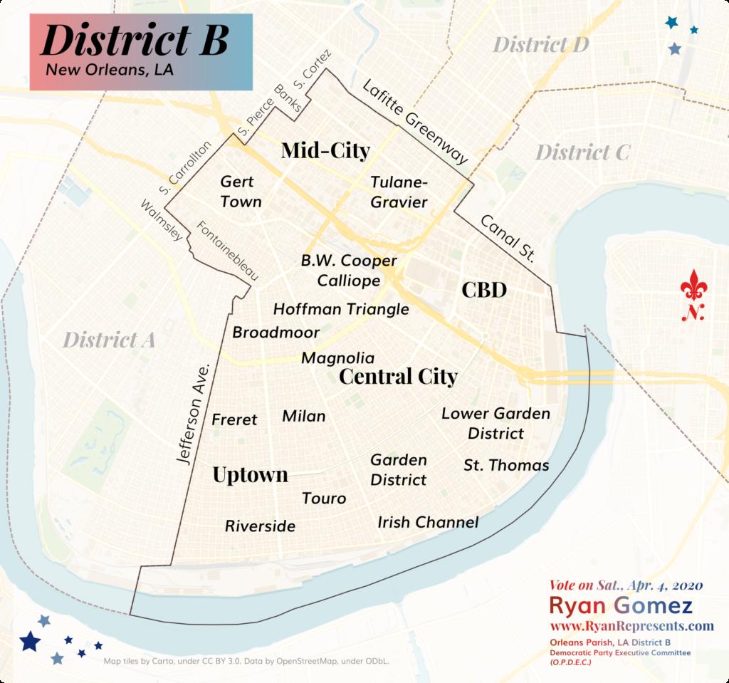 District B Map