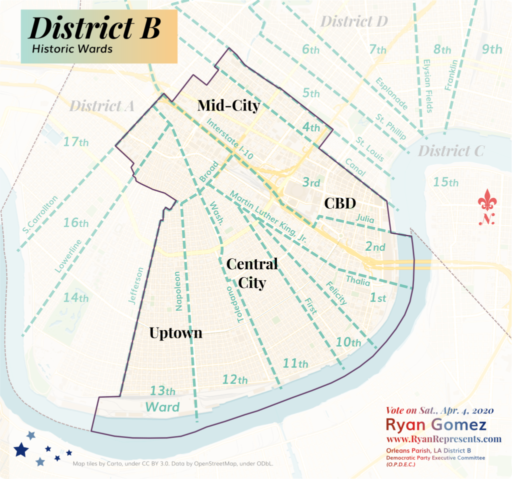 Historic Wards of District B